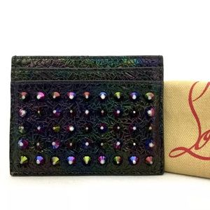 Authentic Louboutin card holders